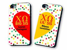Sorority Big & Little Matching Iphone Cases  @Ann Mefford Yes.
