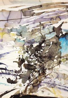 Zao Wou-Ki Chinese Painting, Chinese Art, Abstract Landscape, Abstract Art, Art Plastique, Art Fair, Oeuvre D'art, Painting Inspiration, New Art