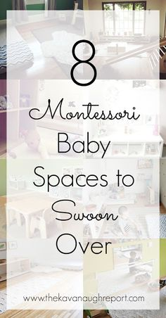Montessori baby spaces are so calming and inviting. Here are 8 inspiring Montessori baby spaces to swoon over!