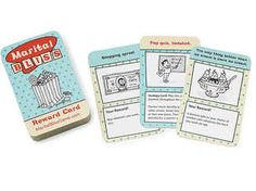 Gift the couple a carefree card game that will have the lovebirds competing against each other with good deeds, like cooking dinner and carrying groceries. The winner can cash in for breakfast in bed—how great is that?  UncommonGoods marital bliss game, $20, UncommonGoods.com