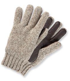 LL Bean Men's Ragg Wool Gloves $29.95