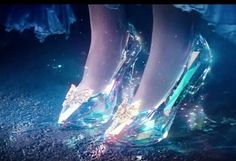 famous glass slippers