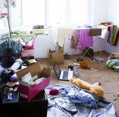 Das Talent, eine aufgeräumte Wohnung innerhalb von vier Stunden zu verwüsten.
