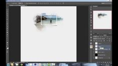 Photoshop Tutorial: Making a frame and adding a warped shadow (Digital Scrapbooking) - YouTube