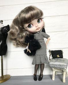 Doll RESERVED for A...OOAK custom blythe by DaryaJavnerikDolls
