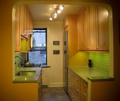 small parallel kitchen design. Parallel Or Galley Modular Kitchen Gloucester Road Apartment  Modern London David