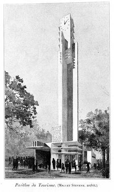 Robert Mallet Stevens architecte 1925