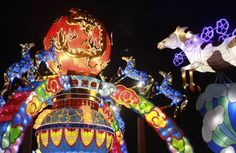 The Lantern Festival is extended through August 30, 2015 at Missouri Botanical Garden