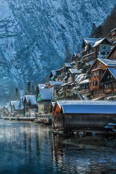World Heritage Site - Hallstatt, Austria  (by Gerd Pischl)