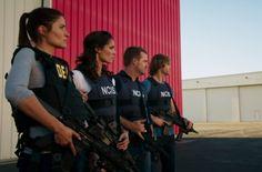 NCIS LA Mercedes Mason, Daniela Ruah, Chris O'Donnell, Eric Christian Olsen, Marty Deeks, Kensi Blye, G Callen