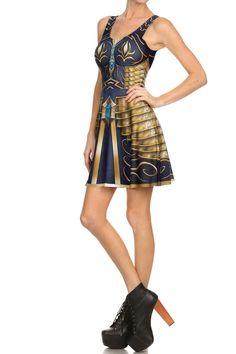 Archeress Skater Dress | POPRAGEOUS