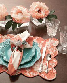 Mix & Match: Aqua Dishes Get an Update - Southern Lady Magazine