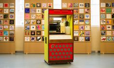 THIS HYBRID VINYL AND WIRELESS JUKEBOX IS UP FOR SALE  Play 7″s or stream them to every room in the house.