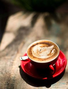 Cappuccino is my favorite I Love Coffee, Coffee Break, Best Coffee, Latte Art, Coffee Cafe, Coffee Shop, Cappuccino Coffee, La Trattoria, Pause Café