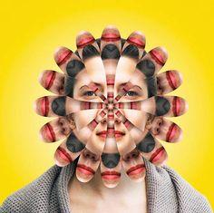 Kaleidoscope of Faces – Les portraits destructurés (image)