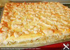 Streuselkuchen mit Rhabarber - Füllung (Rezept mit Bild) | Chefkoch.de