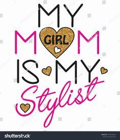 My Stylist Heart Love Design Graphic Stok Vektör (Telifsiz) 1549296353 Love Design, Girl Fashion, Projects To Try, Stylists, Graphic Design, Model, Kids, Heart, Girls Girls Girls