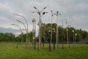 Street Lamp Forest: un bosque de faroles en medio de Munich