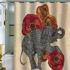 DENY Designs Home Accessories | Valentina Ramos Rosebud Shower Curtain