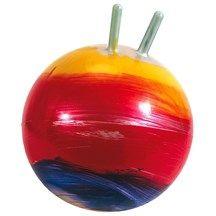 Ballon sauteur : un grand classique, mais celui-ci a de si jolies couleurs !  9,95 € http://www.natureetdecouvertes.com/cadeau-enfant/jeux-jouets-3-6-ans/jeux-de-plein-air/ballon-sauteur-arc-en-ciel-30128230