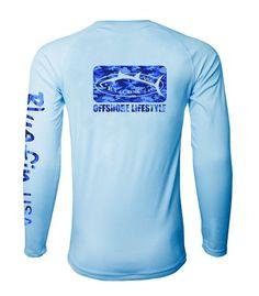 Bluefin USA Rash Guard Camo Logo