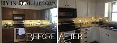 Before After Coffee Bar… My Favorite Emily… Diyinreallife Painted Kitchen…