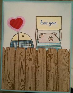 Check out this item in my Etsy shop https://www.etsy.com/listing/219911268/stampin-up-cheerful-critter-i-love-you