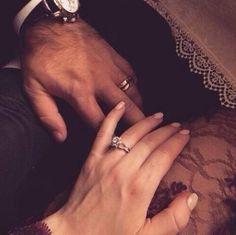 Photo Couple, Love Couple, Couples In Love, Beautiful Couple, Cute Engagement Rings, Engagement Photos, Couple Relationship, Cute Relationships, Le Couple Parfait