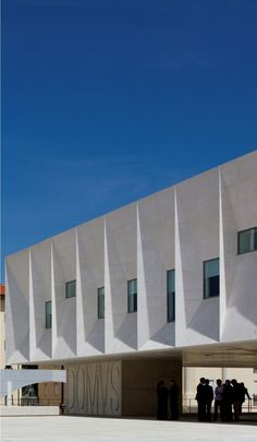 Gouveia Law Courts by Barbosa & Guimarães in Gouveia, Portugal