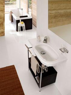 Laufen Decor, Basin, Bath, Home Decor, Laufen Bathroom, Bath Inspiration, Inspiration, Sink, Beautiful Bathrooms