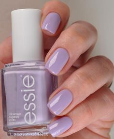 We are loving lilac nail polish this season.