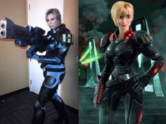 Voice actors dressed as their characters