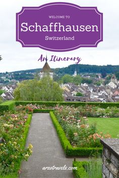 Visit cute Schaffhausen in the north of Switzerland and see more than the biggest waterfall in Europe, the Rhine Falls.