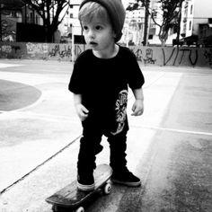 Skateboarding, Black and White Photography, Skater