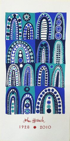 A limited edition hand silkscreened print by renowned Berkshire artist John ffrench.