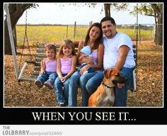 when you see it..