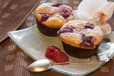 Fluffige Himbeermuffins : Muffin Rezepte sooo yummy=