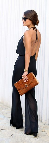 Backless . . . the vamp for New Year's Eve ?
