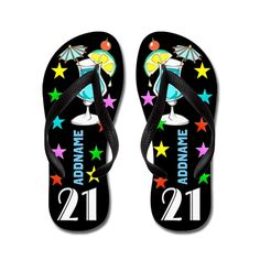 bc80a252ca2a7 Awesome 21st Flip Flops Awesome 21st birthday Tees and Gifts. http   www