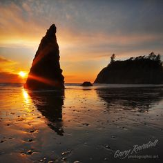 Olympic Peninsula Sunset
