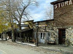 A ghost town in Montana: http://akajanerandom.blogspot.com/2010/12/scooby-snacks-anyone.html
