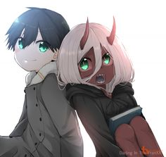 zero two kawaii ( Manga Anime, Anime Art, Pokemon Fusion, Tokyo Ghoul, Waifu Material, Estilo Anime, Zero Two, Demon Girl, Best Waifu