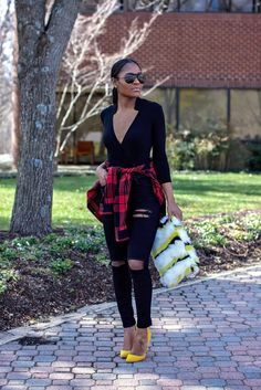 How To Mix Two Prints #fashion #styletips