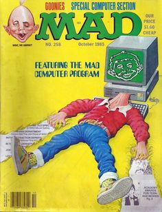 MAD Magazine - Featuring The MAD Computer Program #258 - October 1985 Goonies | eBay