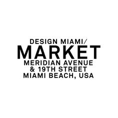 Experience a unique retail platform at the new Design Miami/ Market, featuring #jcrew #LIZWORKS #deandeluca and #artbook available December 2-6 at #DesignMiami #DesignMiamiMarket @JCrew @DeanDeluca @lizworks_ @artbook