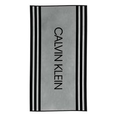 Enjoy a super stylish staycation this year with a Calvin Klein Border Stripe Beach Towel. This classic design comes in Grey or Red, with contrasting CALVIN KLEIN branding and stripes. A luxurious combo of velour and terry towelling; it's super soft, 440 gsm and waiting to go with you on your next trip to the pool or beach. Part of the CK 2020 beach & lifestyle assortment; check out other designs from the collection to update your style. Soap Dispensers, Cotton Towels, Calvin Klein, House Colors, Beach Towel, Things To Come, Colours, Staycation, Chic