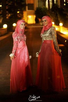 Looks custom made beautiful gowns Islamic Fashion, Muslim Fashion, Modest Fashion, Hijab Fashion, Girl Fashion, Beautiful Evening Gowns, Beautiful Hijab, Eid Outfits, Bridal Outfits