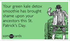 28 Funniest St. Patrick's Day E-cards and Pinterest Pins