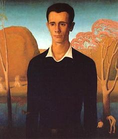 """Arnold Comes of Age,"" 1930, Grant Wood or ""It's About Time: 1930s America's Great Depression - Regional Artist Grant Wood 1891-1942"