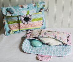 Big Pocket Baby Clutch {free pattern + tutorial} — SewCanShe | Free Sewing Patterns for Beginners